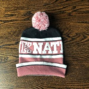 love pink victoria secret Beanie Pom Pom Hat